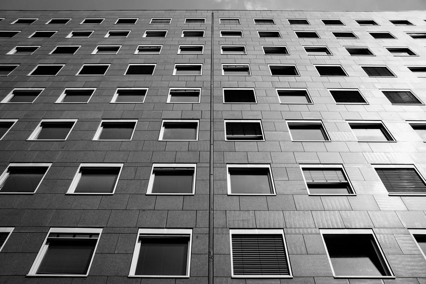 Office building ... Apartment Architecture Building Building Exterior City Development Exterior Fassade Fenster Geometry Hauswand Hochhaus Low Angle View Modern Office Building Outdoors Reflection Residential Building Residential Structure Sonnig Structure Sunny Urban Window Windows