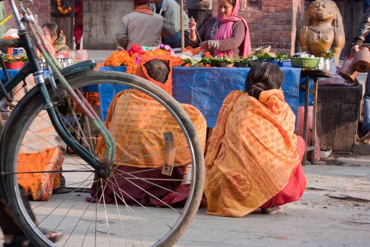 Katmandhu Market Nepal Stupa Travel Photography Colorful Holi Nepali Culture Religion Sari Travel Destinations Travelphotography Wemen EyeEmNewHere