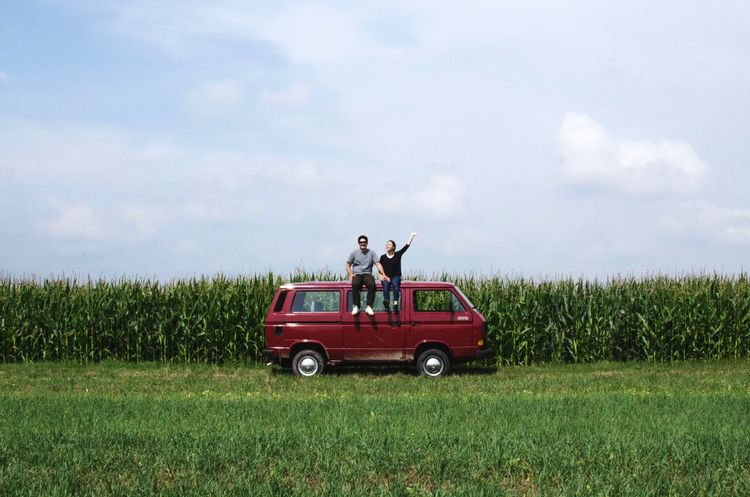 Ready for take off. Outdoors Traveling Bayern Explore The World Nature Ship Vanagon