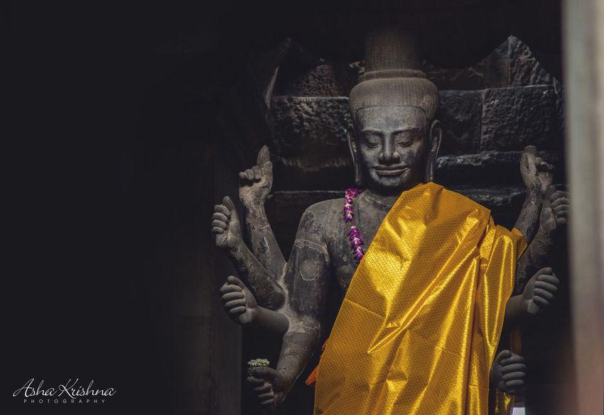 Vishnu. EyeEm Best Shots EyeEm Gallery Ashakrishnaphotography Arts Culture And Entertainment Cambodia AngkorWatTemple Travel Photography Traveldiaries Lordvishnu