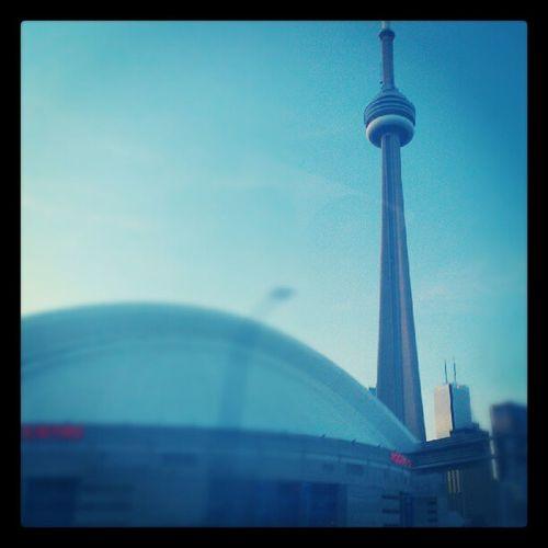 Toronto Cntower RogersCenter Skyline Canada HTC Amaze4G QuickShot