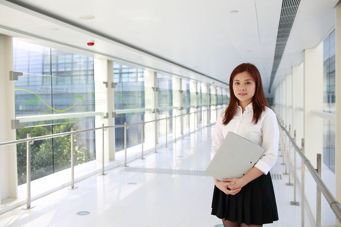 Futuristic Office Portrait Of A Woman Women Who Inspire You Worker Working Business Finance And Industry Career Girl Girls Job Model Occupation Portrait Pose Pose For The Camera Technology White Woman Portrait