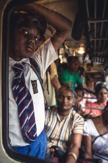 The Journey Is The Destination commuting to school Portrait Portrait Photography Portraiture Bus Ride Comuting School Boy Travel Travel Photography Showcase July People And Places The Street Photographer - 2017 EyeEm Awards The Photojournalist - 2017 EyeEm Awards The Portraitist - 2017 EyeEm Awards