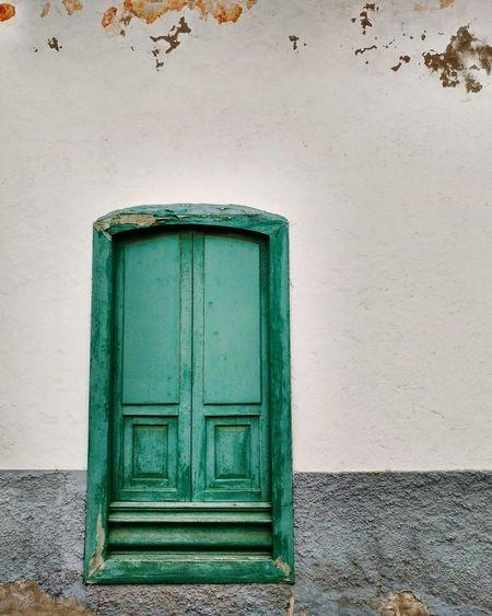 Doors Door EyeEm Selects Green Green Color Greenery Green Door Arrecife Lanzarote Lanzarote Island Canary Islands Fuerteventura Gran Canaria Tenerife Tenerife Island Building Building Exterior Traditional Canarian Canarian Islands Canarias Doorporn Window Window Frame Windowporn
