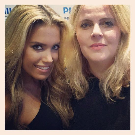 Beauty talk with charming Sylvie Sylvievandervaart Berlin Ifa2013 Philips @philips beautyblogger bblogger blogger thanksforyourtime