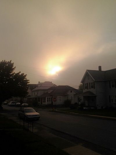 Goodmorning EyeEm  .. Enjoying The Sunrise .. No Edits No Filters JUST AS IT IS IN PENNSYLVANIA @8:00 A.M...