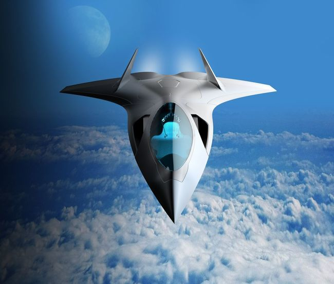 Advanced military fighter 3D Advanced Air Vehicle Blue Cloud Cloud - Sky Cloudscape Day Fighter,yellow,green,blue,red,purple Flying Hightech Low Angle View Mid-air Military, Mode Of Transport No People Outdoors Part Of Render Sky Weather White