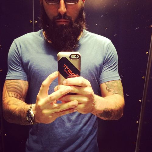Beard Bearded Barba Ink Inked Ink361 That's Me