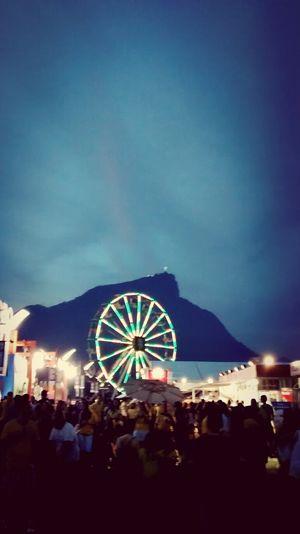 Parque da Bola @ Jockey Club Rio de Janeiro. Cristo Redentor Brazil2014 WorldCup Jockey Club RodaGigante