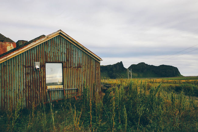 Abandoned Abandoned Buildings Abandoned Places Clouds Europe House Iceland Lost Nature Nature Photography Old Buildings Outdoors Outside Sky Tristesse VSCO