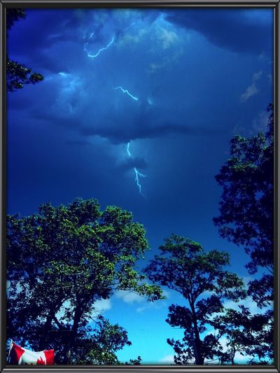 Atmospheric Mood Blue Dramatic Sky Lightning Power In Nature Sky Storm Cloud Thunderstorm