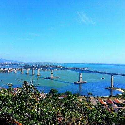 Ângulos da terceira ponte :) Vista do Convento da Penha . 📷 Trippics