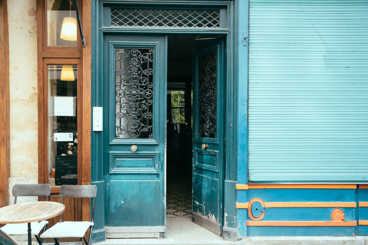 Ajar Architecture Building Exterior Built Structure Closed Day Door Doorway Entrance Front Door Horizontal House No People Outdoors