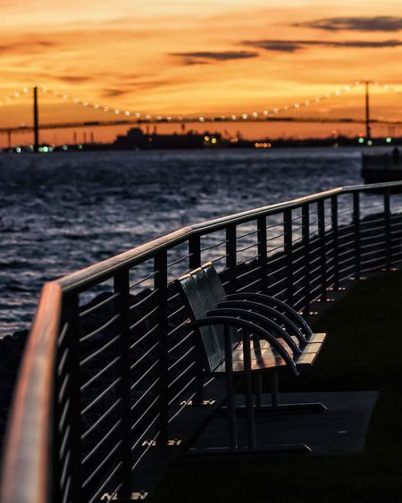 Bench views Sunset Railing Water No People Cloud - Sky Horizon Over Water The Week On EyeEm Detroit, MI EyeEmNewHere Detroitlove EyeEm DetroitMichigan Sunrise And Sunsets EyeEm Selects Bridge Benches Benches_Of_The_World_Unite Bench With A View Benchlovers Benchinthepark Bench View Night Sky Outdoors