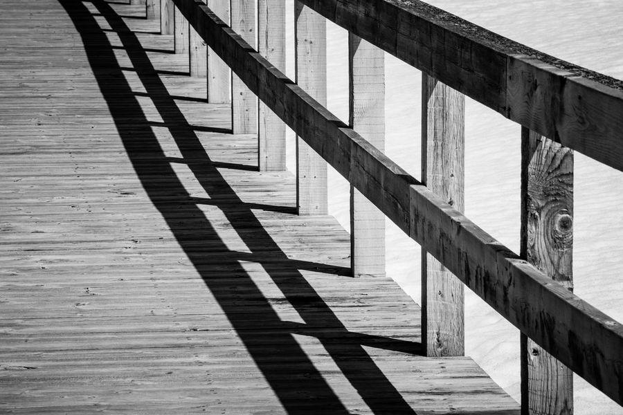 Light & shadows Bridge Built Structure Light & Shadows Lines Path Pattern Railing Stripes Everywhere Stripes Pattern Wood Wood - Material