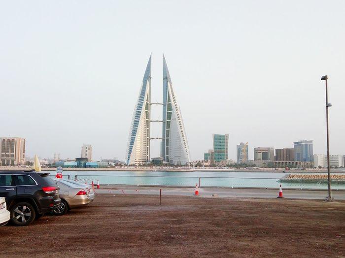 Skyscraper Bahrain Tourism Photography Bahrain Manama Architecture