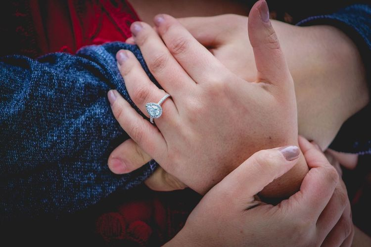 Human Hand Togetherness Love Two People Bonding Women Ring Real People Close-up Men Human Body Part Indoors  Finger Ring Bride Day Adult People Engagement Engagement Ring Engagement Photography