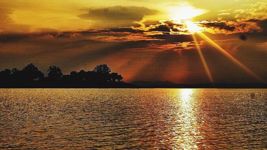 Perfect sunset sunshine