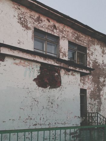"""This Old Building  is really Missing """"Another Brick in the Wall"""" as now its Walls are covered with Wounds, and actually all the Building looks like one huge Wound. LOL"""