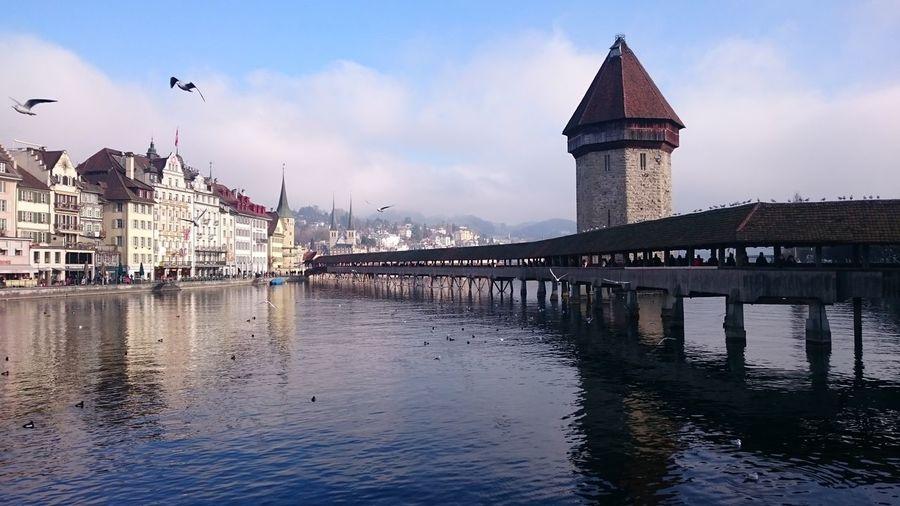 EyeEmNewHere Luzern Switzerland Second Longest Woodbridge Roadtrip To The Alps Sightseeing