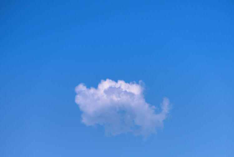 Little Cloud Alone Clear Sky Cloud Float Sing Weather Backgrounds Beauty In Nature Blue Clear Sky Day Low Angle View Nature No People One Cloud Outdoors Scenics Sky Sky Only