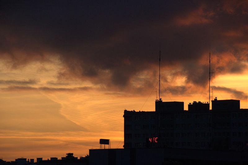 Building Exterior City Cloud - Sky Nature No People Outdoors Sky Sunset