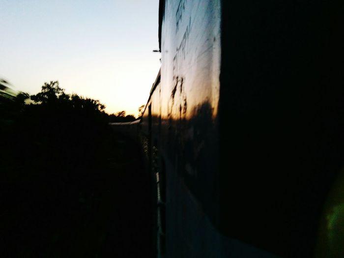 Sunrise - Dawn By The Train