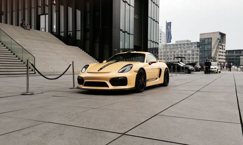 Porsche Caymen Gt4 Coupè Luxury