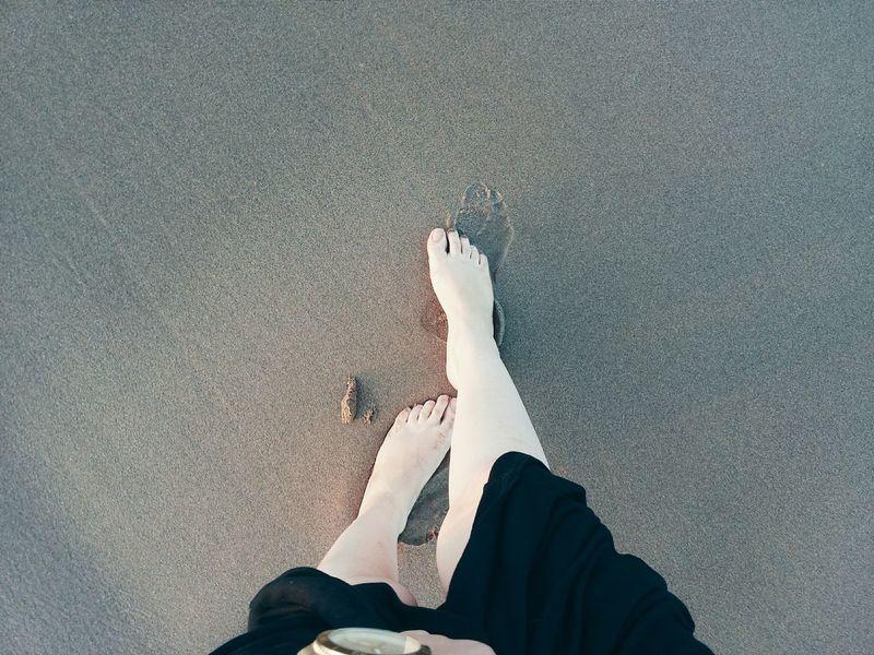 Holiday POV Sand Beach Beachphotography Selfeet Saidia Morocco Saidia Beach