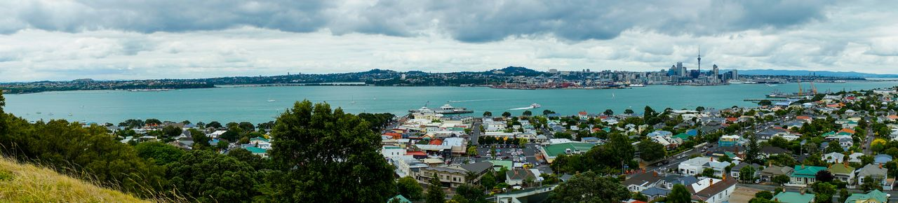 Panoramic view of Auckland from Mt Victoria. Panoramic Panorama Auckland A7s SonyA7s Harbour Harbor Harbour View