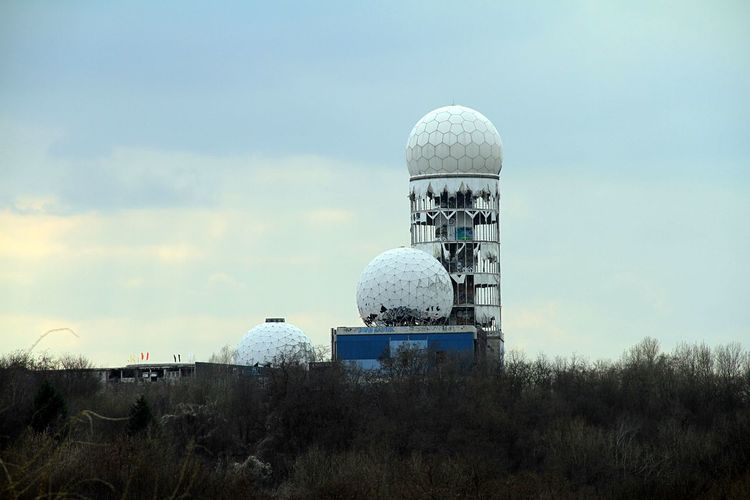 Architecture Berlin Building Exterior Built Structure Cold War Cold War Relic Day Landscape Nature No People NSA Station Berlin Outdoors Secret Places Sky Spionage Zentrum In Berlin Technology Teufelsberg Berlin Top Secret EyeEmNewHere Breathing Space Discover Berlin