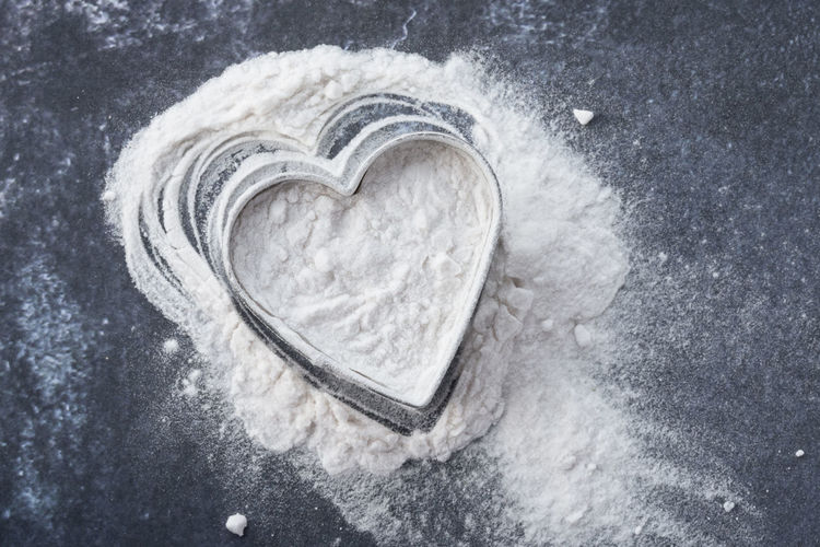 Arrowroot Isolated Love Shape Valentine Valentine's Day  Arrowroot Close-up Directly Above Heart Ingredient No People