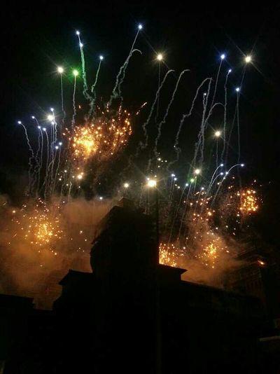 Ferrarabynight Ferrara Castello Estense Ferrara's Castle Castle On Fire New Year's Eve Fireworks Fireworks 43 Golden Moments