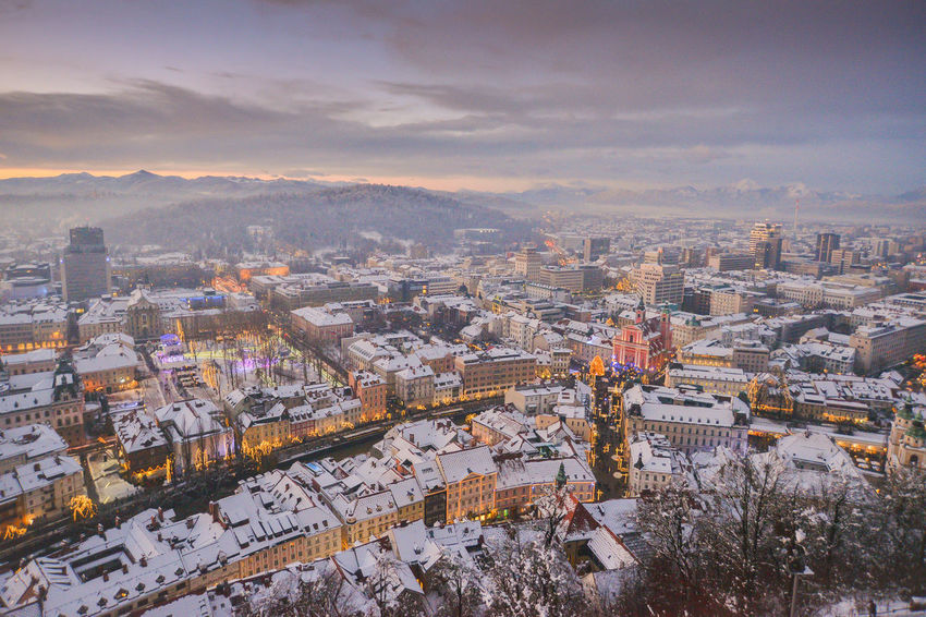 Blue Hour City EyeEm EyeEm Best Shots Ljubljana Ljubljana, Slovenia Slovenia Snow ❄ Winter Winterscapes Wintertime Architecture Best Shots Building Exterior Built Structure City Cityscape Cold Temperature Day High Angle View Ljubljana Castle Ljubljanacity Ljubljanamoments Mountain Nature No People Outdoors Sky Slovenija Snow Snowing Travel Destinations Tree Winter Winter Wonderland Shades Of Winter The Great Outdoors - 2018 EyeEm Awards