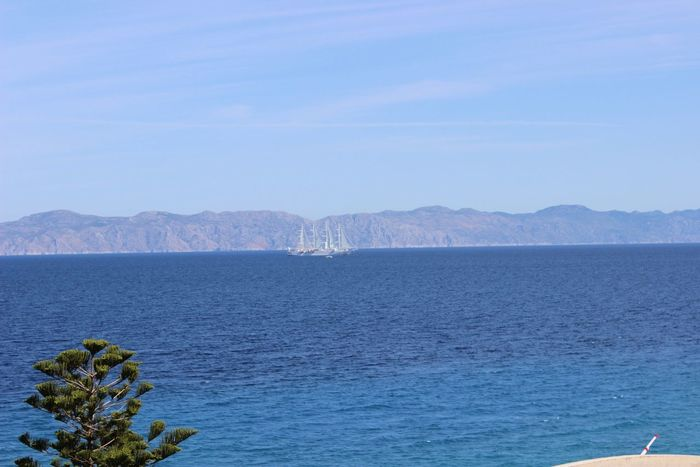 Water Scenics Beauty In Nature Seaview Sky Blue Rhodes Greece Greece Islands Sea And Sky