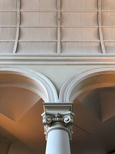 Architectural Detail! #Osnabrück #Bahnhof #Pillar #ArchitecturalDetail Architectural Detail Bahnhof Pillar Architecture Built Structure Indoors  Ceiling Architectural Column Low Angle View No People Ornate Arch