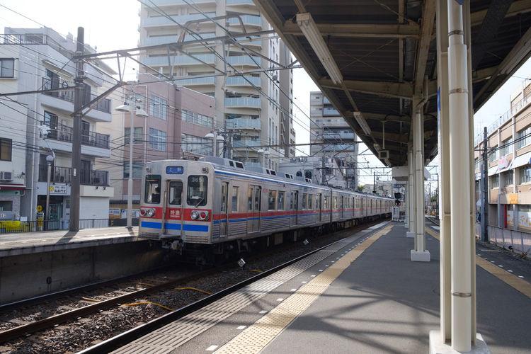 FUJIFILM X-T2 Japan Japan Photography Keisei Line Transportation Fujifilm Fujifilm_xseries Train Train Station X-t2 京成線 市川真間 真間 電車