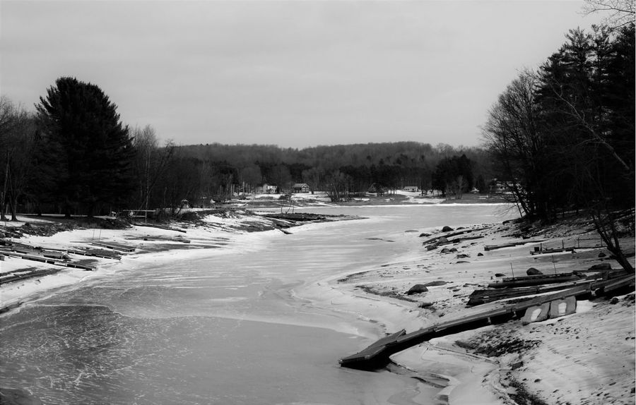 Nikonphotography Photography Wintertime On A Nice Day Nature New York State Capture The Moment Upstate NY Blackandwhite