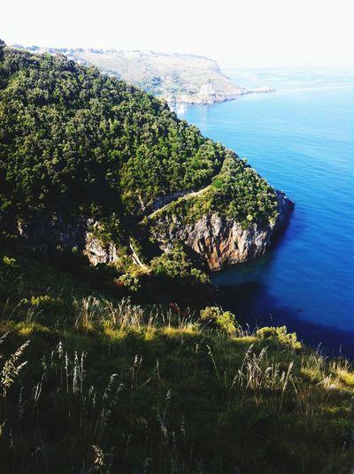 Italy Calabria Sea View Tirreno Scalea A Bird's Eye View