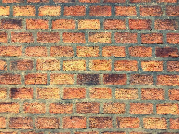 Brown Brick Walls More Beautiful Buildings Cassic Bilding Strong Cement Backgrounds Full Frame Pattern Textured  No People Design Shape Wall - Building Feature Brick Close-up Built Structure Red Day Wall Multi Colored Orange Color Geometric Shape
