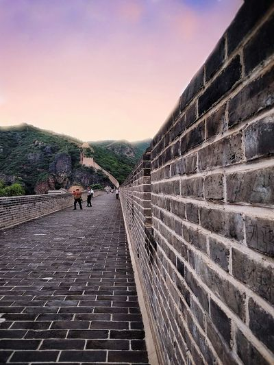 the Great Wall City Life Thegreatwalllofchina CityWalk People Wall Photography Lifestyles Shot 中國 City Sky