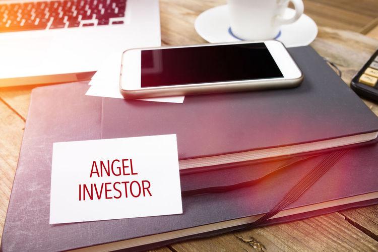 Communication Text Words Header Title Banner Angel Investor Venture Capital Startup Finance Business Occupation Trust Seed Money Technology Wireless Technology