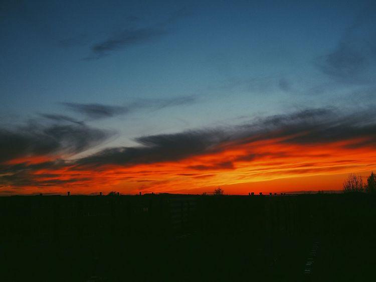 Sky Sunset No People Estonia
