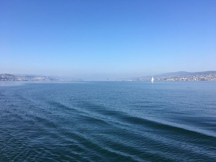 Water Sun Blue Sky Switzerland Zürichsee I ❤️ Zürich Ship Springtime Life Is Beautiful Blue Lakeview No Filter, No Edit, Just Photography Iphone6s Sailing