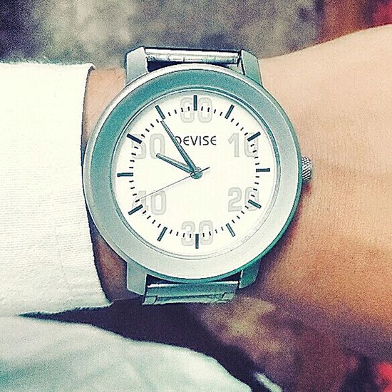 My first watch ..😊 Clock Handwatch First Eyeem Photo
