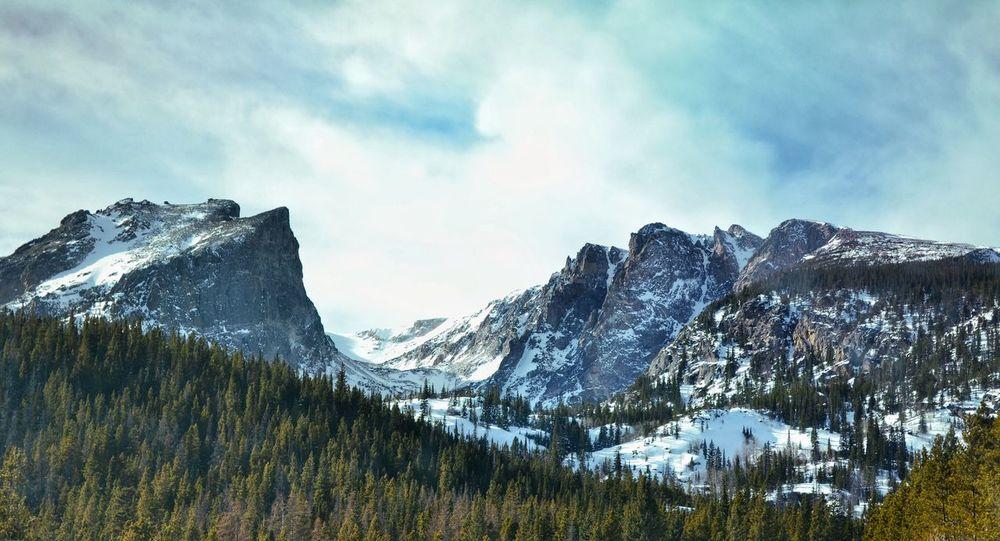 Dream Lake Januaryphotochallenge Hiking Winter Estes Park, CO Mountains