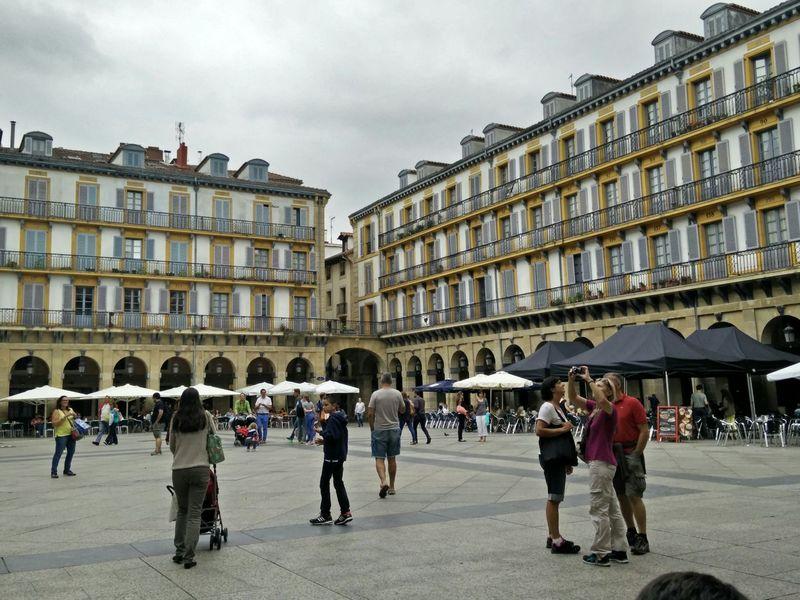 Plaza De La Constitución Pays Basque España🇪🇸 Donostia / San Sebastián Streetphotography Simple Moments Taking Photos