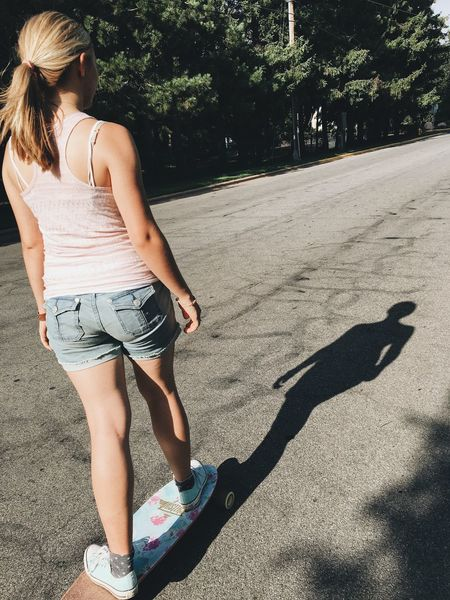 Longboarding Leisure Activity Longboard Girl Longboarder Dusters Feel The Journey Exploring Blonde Girl Street Photography Summer Girl Power Ann Ilagan Photography Unidentifiable People Casual Clothing Exploring New Ground Wisconsin MidWest Stevens Point Wanderlust Gypsy An Eye For Travel