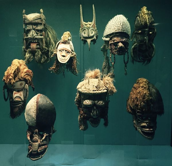Polynesian Masks Warrior American Museum Of Natural History