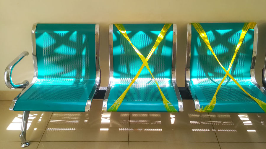 Low angle view of illuminated lighting equipment in swimming pool